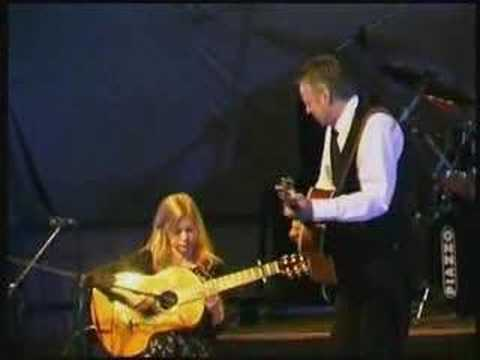 Angelina Baker-Muriel Anderson and Tommy Emmanuel