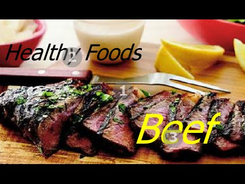Health Benefits Of Beef - Healthy Meat Eating Recipe Advice