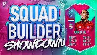 FIFA 19 SQUAD BUILDER SHOWDOWN!!! STRIKER FUT BIRTHDAY VAN DIJK!!! Position Change Virgil Van Dijk