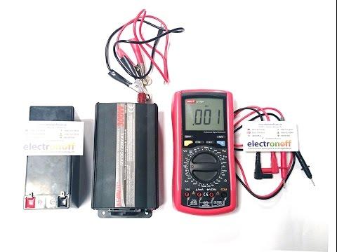 Видео как проверить частоту мультиметром