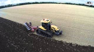 Cat Challenger 765C - Ploughing in Suffolk