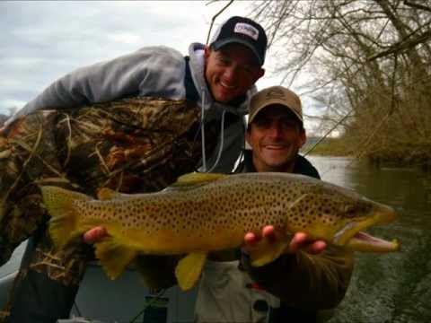 White River Streamer Fishing 2012.wmv
