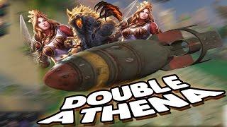 Smite: Double Athena Nuke Combo - 3v3 Joust - TACTICAL NUKE INCOMING!