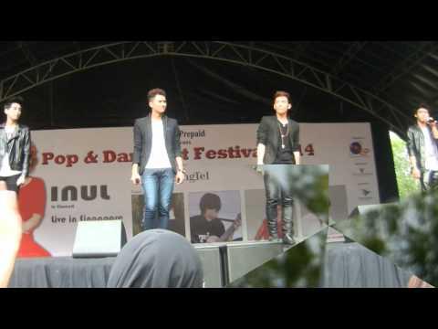 S4 @ CONCERT POP & DANGDUT FESTIVAL 2014   SINGAPORE