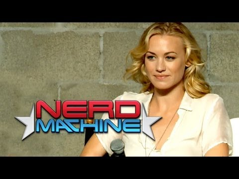 """Chuck"" Conversation with Cast and Crew (Part 1) - Nerd HQ (2012) HD - Yvonne Strahovski"