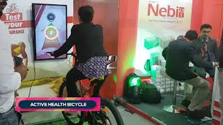 Aristo Pharma | Active Health Bicycle | CSI 2018 | Kolkata