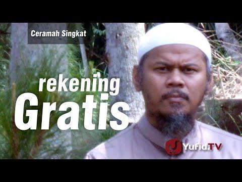 Ceramah Singkat : Rekening Gratis - Ustadz Indra Abu Umar