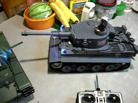 RC 1/16 tank Heng long tanks review part two
