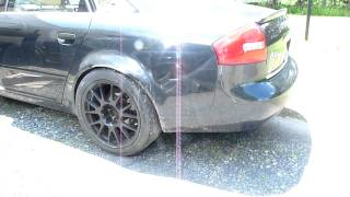 Audi A6 2.7T Straight Pipes