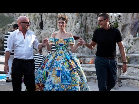 Alta Moda: Dolce and Gabbana's Haute Couture in Capri