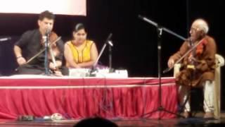 Mohan Pendse Bhairavee with Guruji