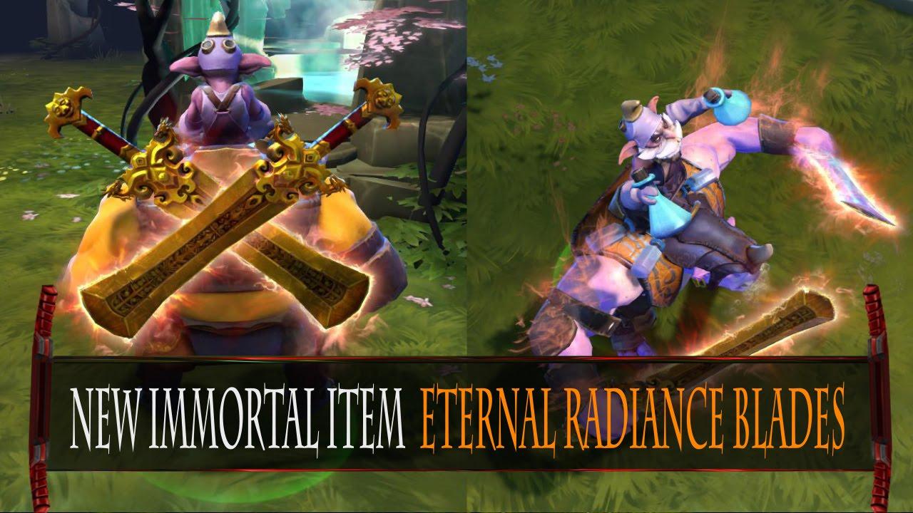 Eternal Blade Dota Radiance Blades Dota 2