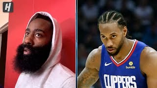 James Harden FIRES ON KAWHI LEONARD's Load Management Actions
