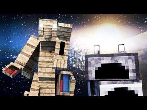 Трансформеры в Minecraft'е (Короткая Minecraft Анимация)
