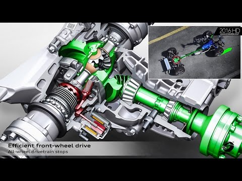 Audi Q5 – Animation quattro Drive System with Ultra Technology