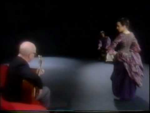 Narciso Yepes plays Canarios by Gaspar Sanz; Ana dances