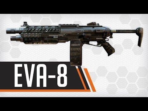 EVA-8 Shotgun : Titanfall Weapon Guide & Gun Review