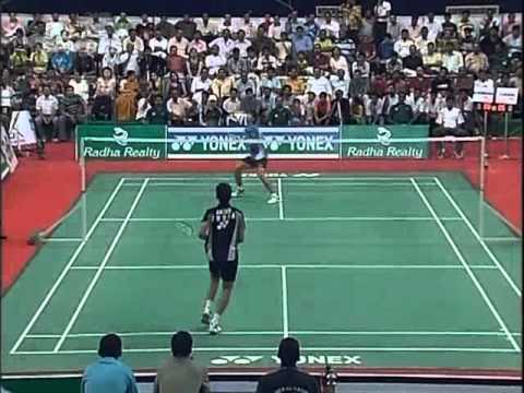 badminton india open 2008 Boonsak PONSANA vs Chetan Anand INDIA OPEN 20081