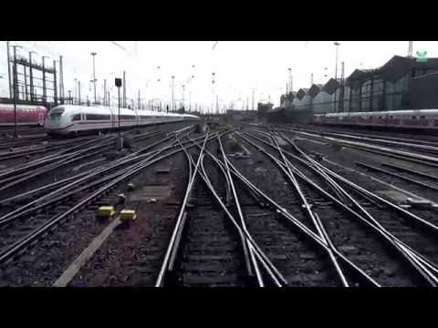 DB Bahn - Von Frankfurt Hbf nach Bingen Hbf - Führerstandsmitfahrt Nr. 43 - Stwg