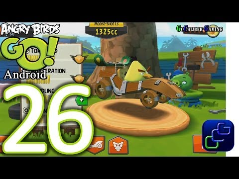 Angry Birds Go! Android Walkthrough - Part 26 - Stunt: Track 3 - Chuck video