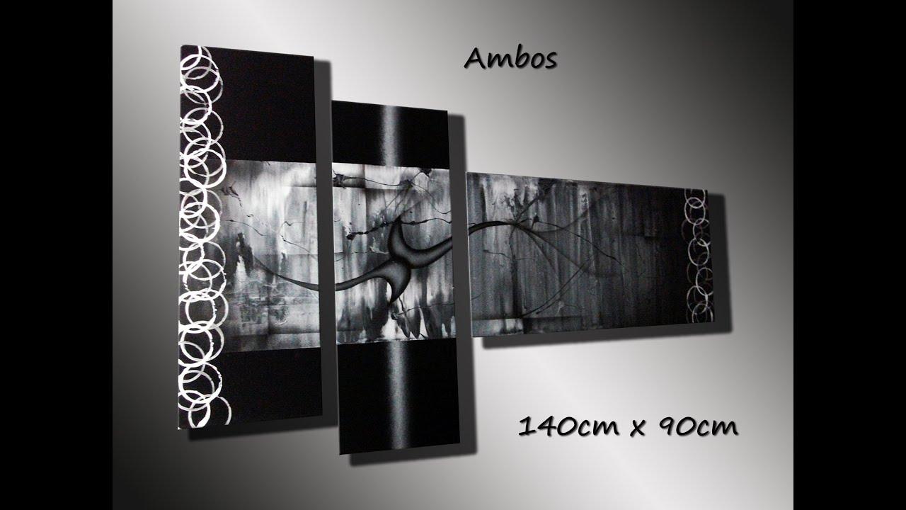 Cuadros modernos abstractos decorativos de oscar sanchez for Imagenes de cuadros abstractos rusticos
