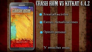 Crash V5 - ROMs Galaxy Note 3