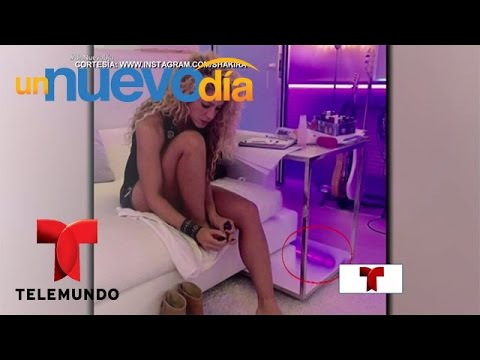 Gran controversia por una foto ¿porno? de Shakira | Un Nuevo Día | Telemundo