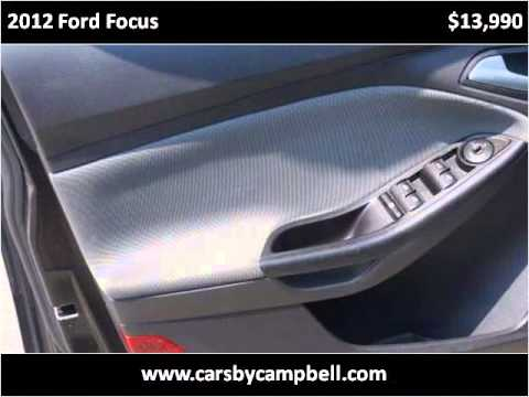 2012 Ford Focus Used Cars Niles MI