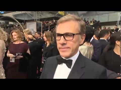 christoph waltz at the oscars 2014