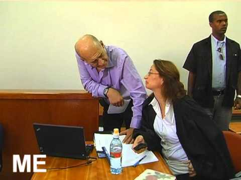 The trial of former Prime Minister Olmert