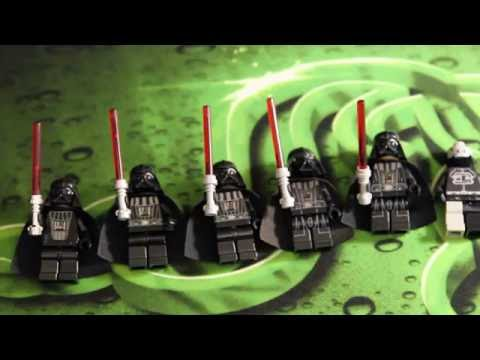Lego Star Wars - My Darth Vader minifigure Collection Review (обзор)