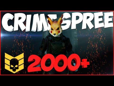 CRIME SPREE lvl 2000+ |PAYDAY 2| It's worse One Down + Аналитика С: