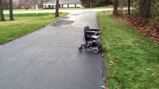 Remote Control Electric Wheelchair