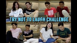 Try Not To Laugh Challenge (Sibling Edition)