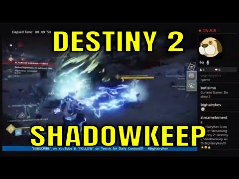 Destiny 2 Shadowkeep #46 - LiveStream