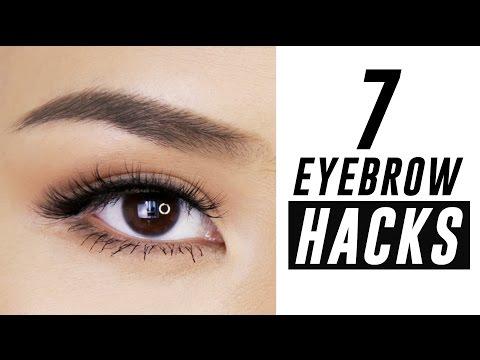 7 Eyebrow Hacks You Need To Know   Tina Yong