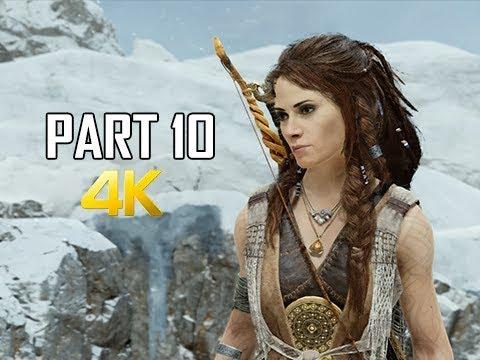 GOD OF WAR Gameplay Walkthrough Part 10 - ALFHEIM (PS4 PRO 4K Commentary 2018) thumbnail