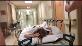 She Had To Go To The Hospital