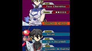 ReYreX vs alexis Rhodes - Yu-Gi-Oh! GX Spirit Caller - primer duelo - yugioh GX