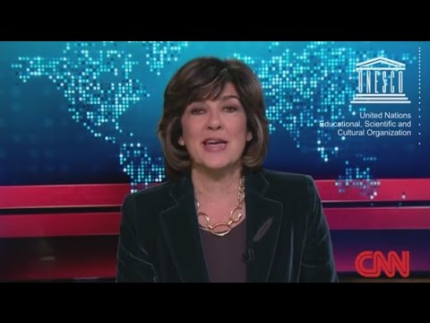 Christiane Amanpour's video message on gender equality in media
