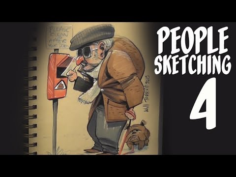 people sketching - episode 4
