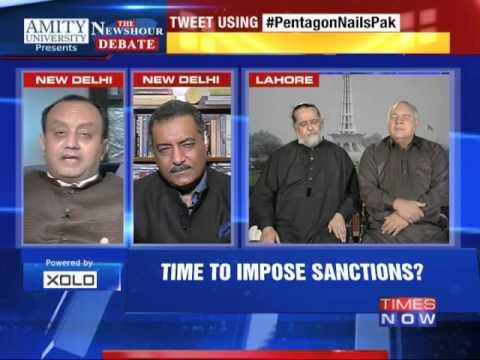 The Newshour  Debate: Pentagon Nails Pakistan - Part 2 (4th Nov 2014)