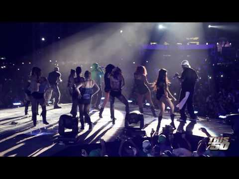 50 Cent x G-Unit in Dominican Republic with Wisin Y Yandel - 8/29/10