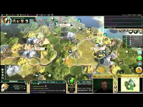 Civilization 5 Multiplayer 144: Japan [Summary] ( BNW 6 Player Free For All) Gameplay/Commentary