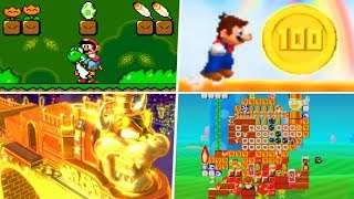 Evolution of Secret Areas in Super Mario Games (1988 - 2019)