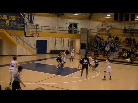 2013 - RADNOR HIGH BASKETBALL - VARSITY GIRLS vs MERION MERCY ACADEMY - 1/2