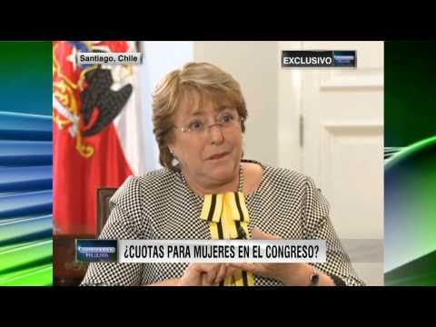 """Exclusiva con Michelle Bachelet"" Oppenheimer Presenta # 1438"