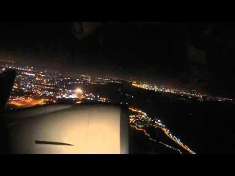 Korean Air flight KE 642 ~ Part 1 (Late Night Departure From Singapore Changi Airport)
