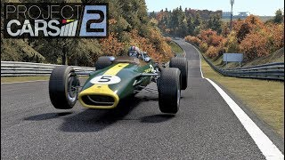 Project CARS 2: 1967 Lotus 49 on Nordschleife!