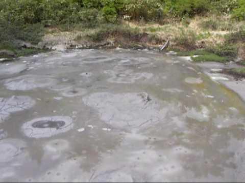 後生掛温泉の泥火山